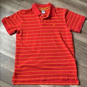 Nike collared shirt